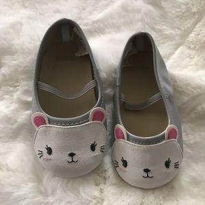 GYMBoree 04baby gray baby shoes